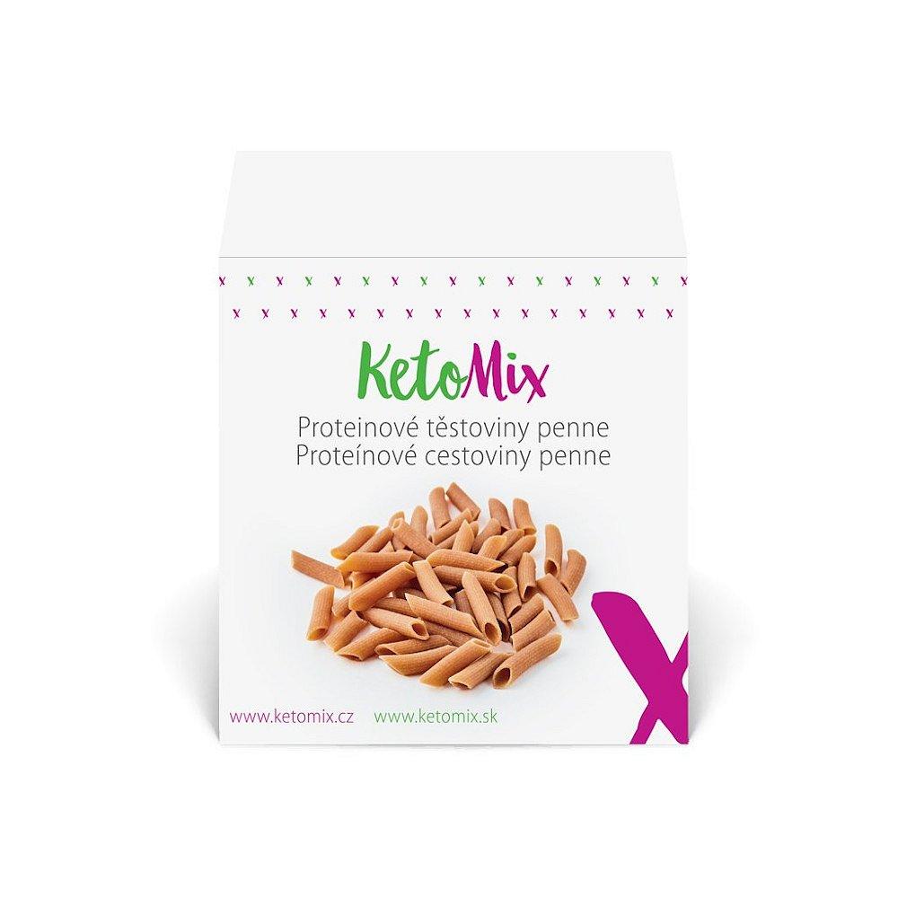 KETOMIX Proteinové těstoviny penne 10 porcí