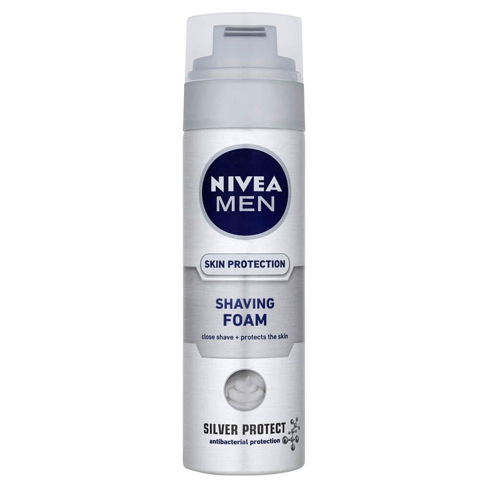 NIVEA MEN pěna na holení Silver Protect 200 ml