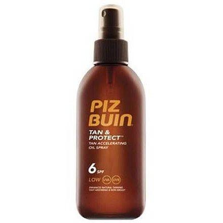 PIZ BUIN SPF6 Tan+Protect Oil Spray 150ml