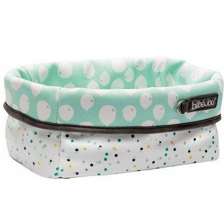 Textilní košík na kojenecké potřeby Bébé-Jou Confetti Party
