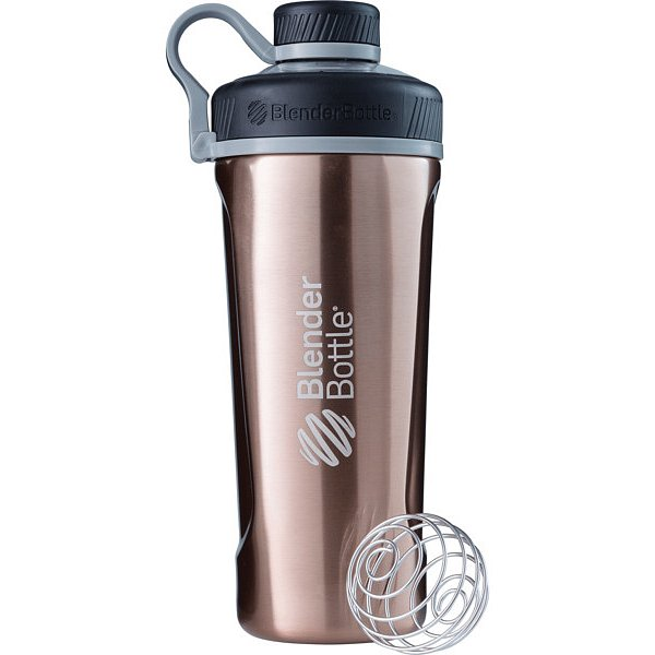 BlenderBottle® Láhev Radian™ Insulated Stainless Steel 940ml- měděná