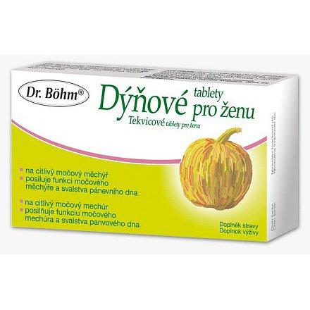 Dr.Bohm Dýňové tablety pro ženu tablety 30
