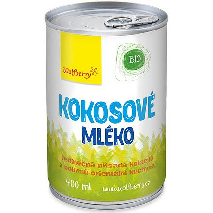Wolfberry Kokosové mléko BIO 400 ml