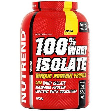 100% WHEY ISOLATE 1800 g banán