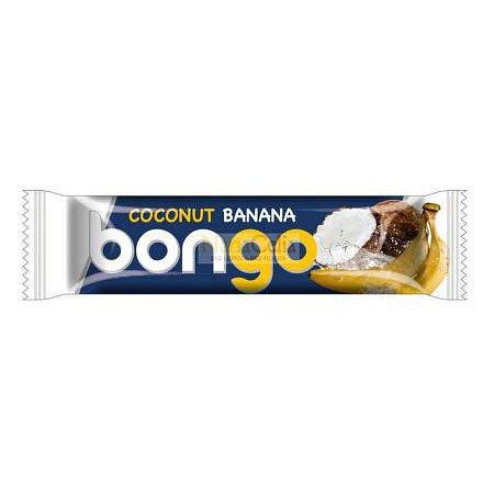 Bongo banánová příchuť - kokosová tyčinka v mléčné polevě 40g