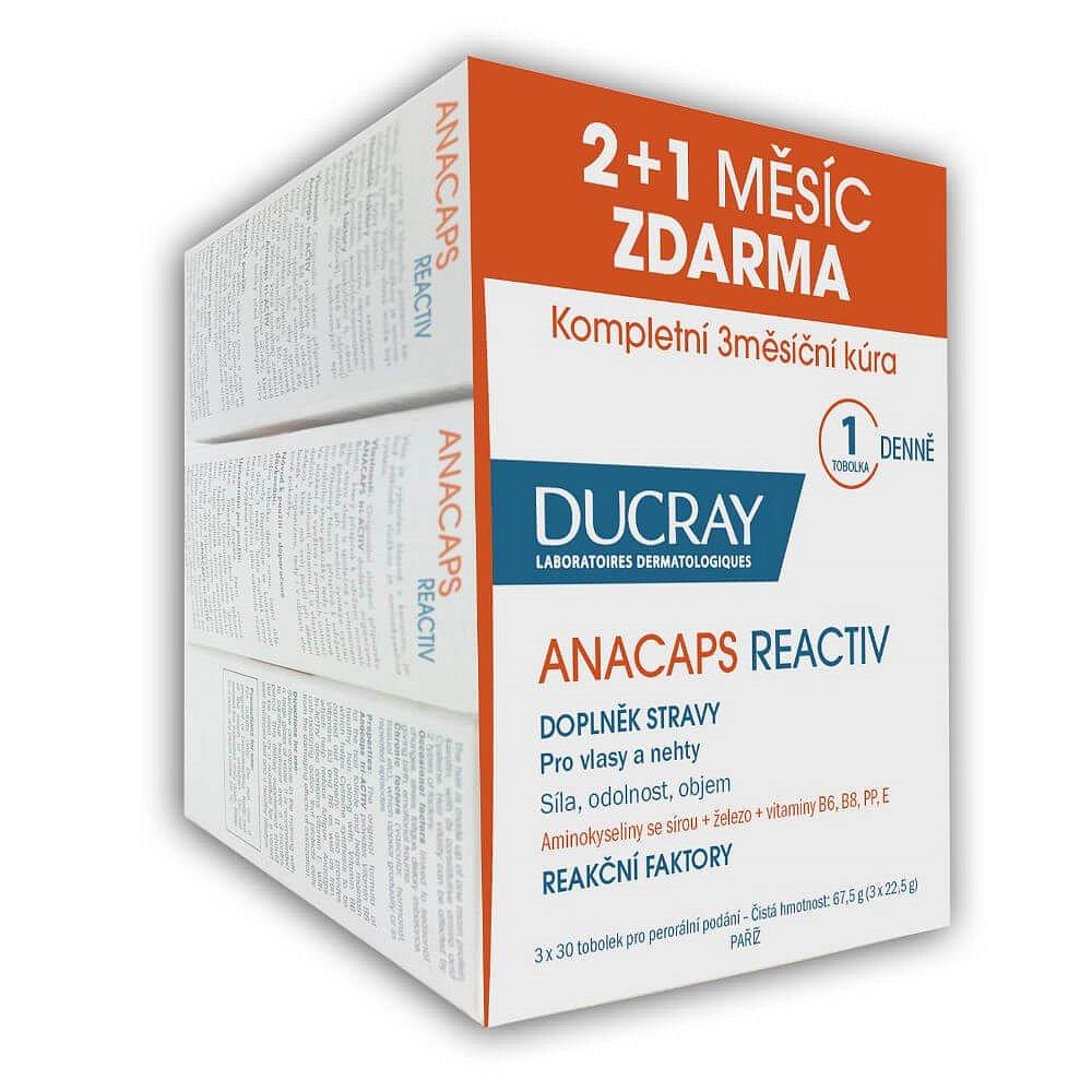 DUCRAY Anacaps Reactiv 30 tobolek (2+1 ZDARMA)