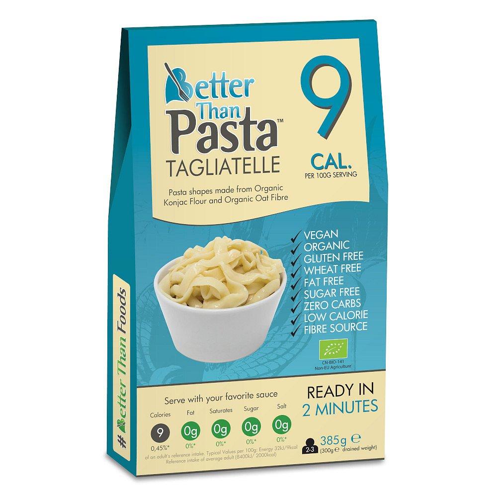 BETTER THAN FOODS Konjakové bezsacharidové tagliatelle 385 g