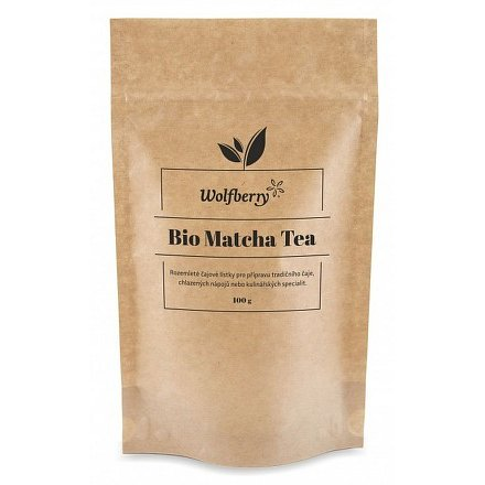 Wolfberry* Matcha tea BIO 100g