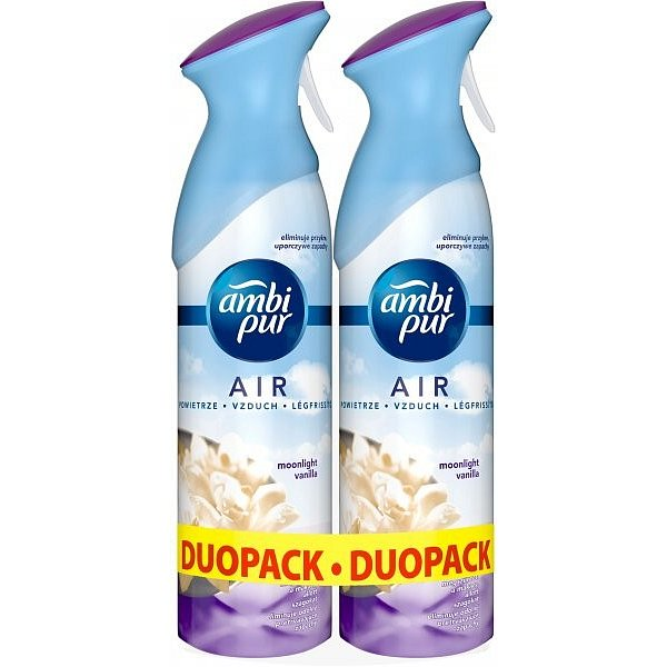 AmbiPur Spray Moonlight Vanilla  2x300 ml