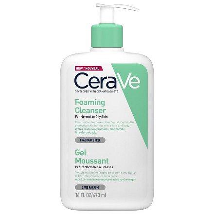 CERAVE Čisticí pěnící gel 473 ml