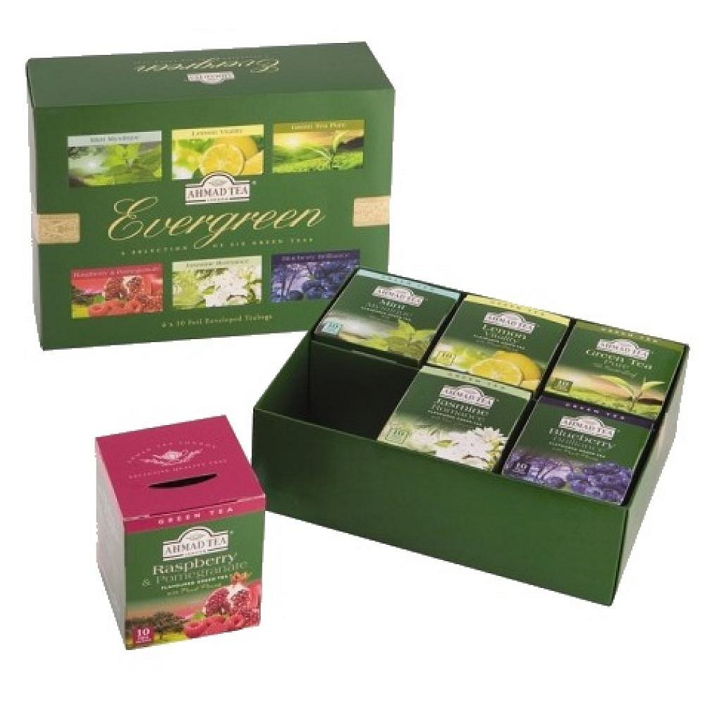Ahmad Tea Evergreen 6 x 10 x 2 g
