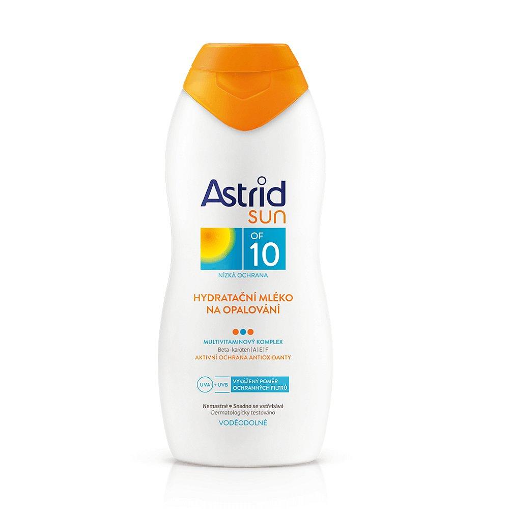 ASTRID Sun Hydratační mléko na opalování OF 10 200 ml