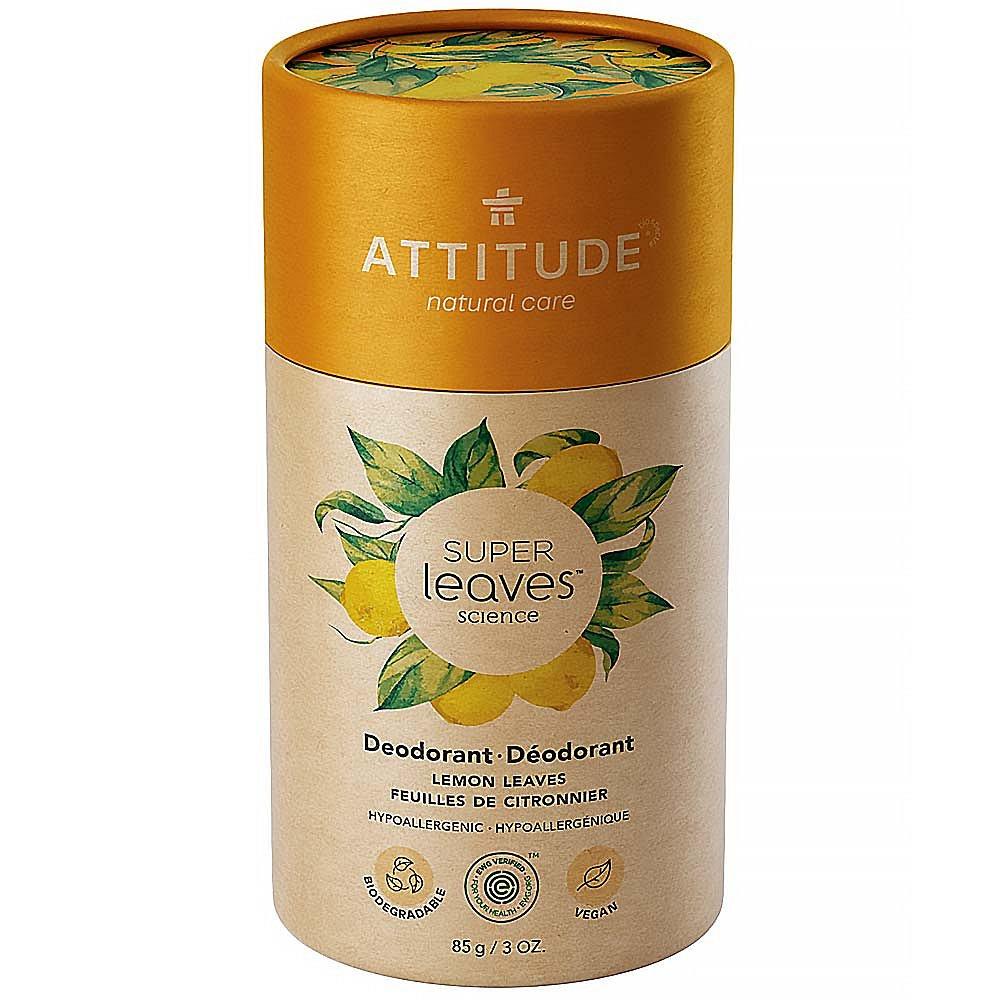 ATTITUDE Přírodní tuhý deodorant Super leaves  Citrusové listy 85 g