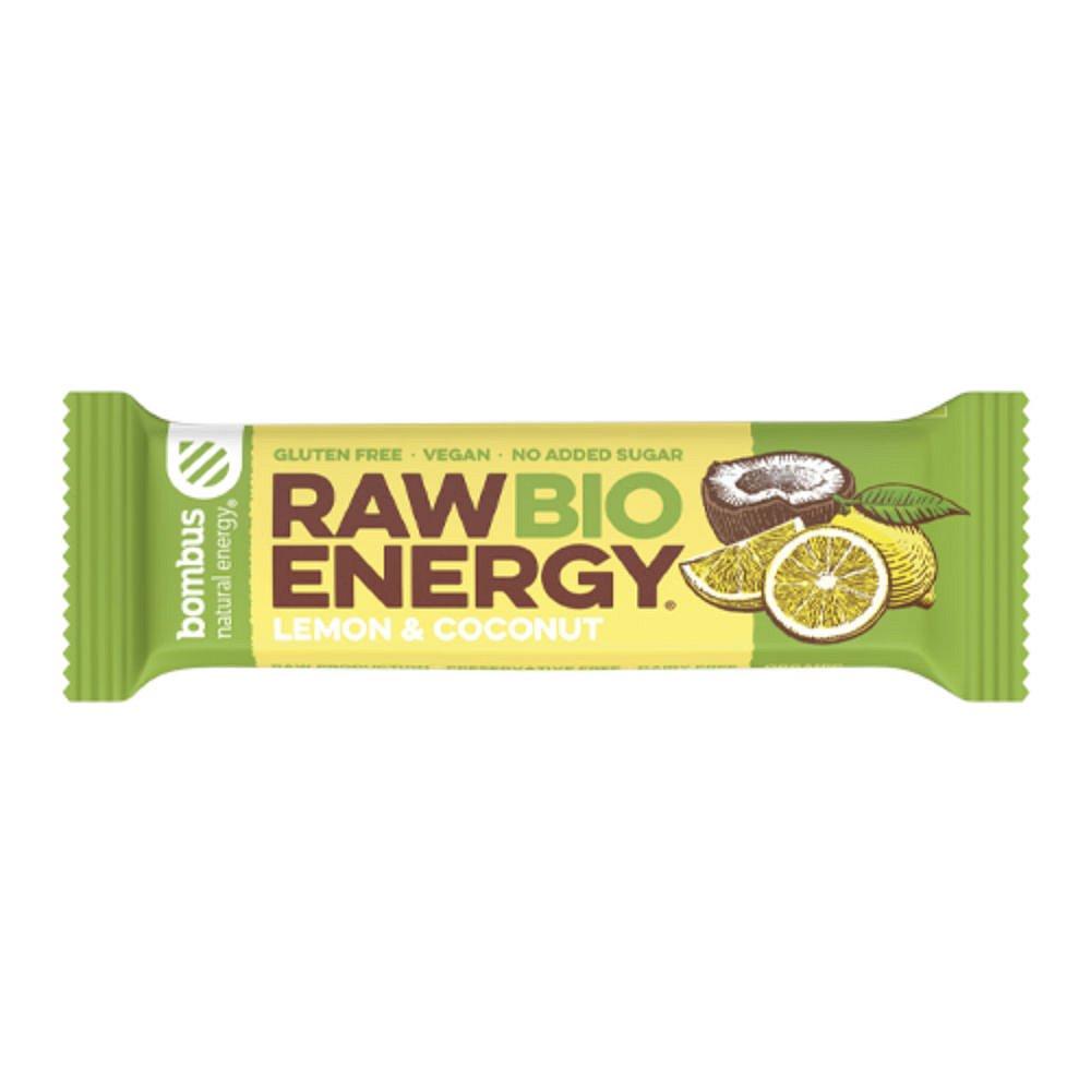 BOMBUS Raw BIO citron a kokos 50 g