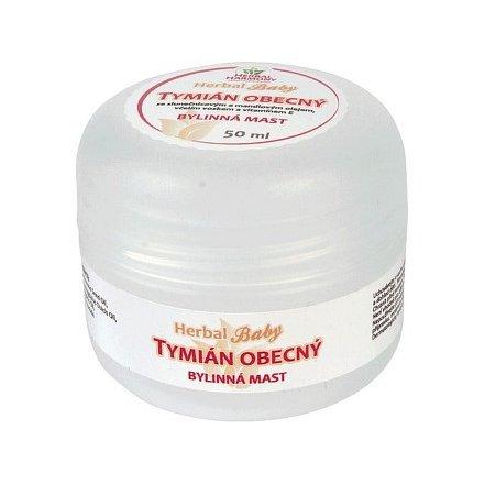 Herbal Harmony Tymián obecný bylinná mast 50ml