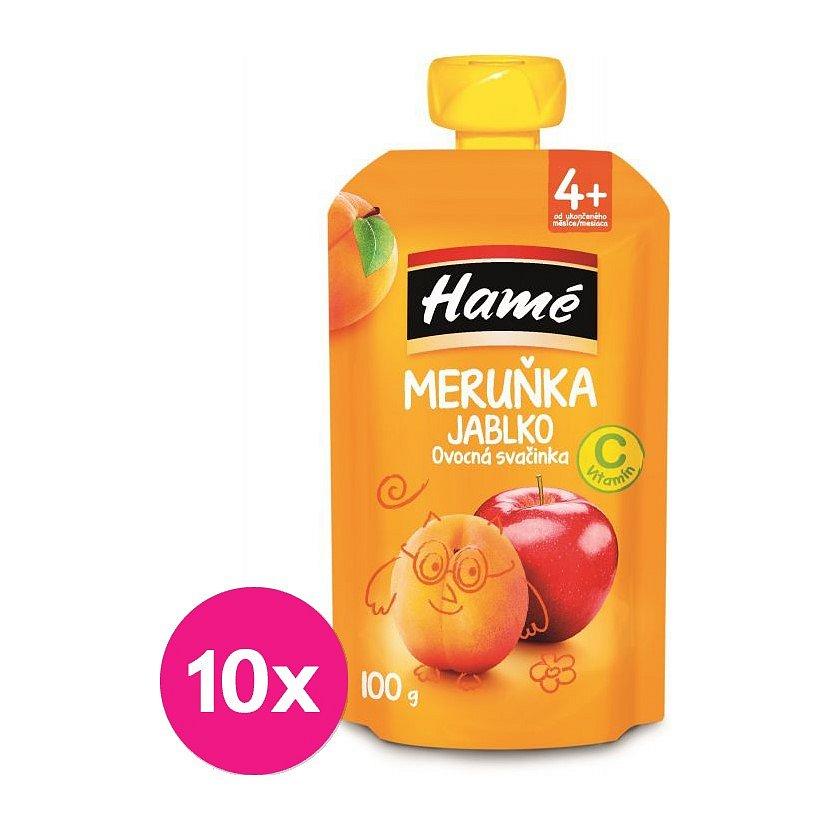 10 x HAMÁNEK Ovocná svačinka meruňka 100 g