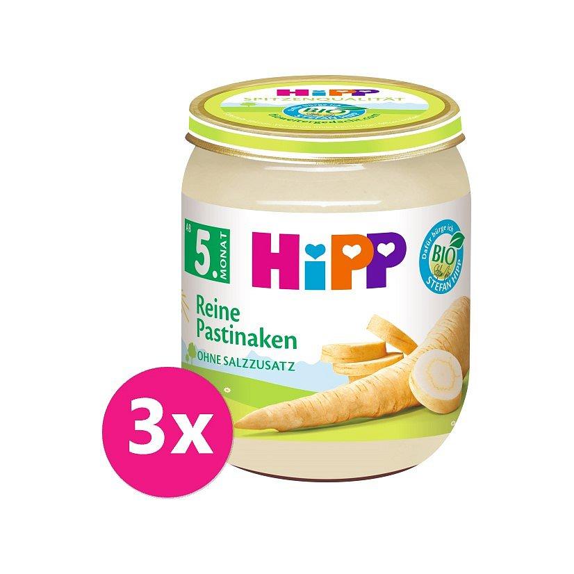 3x HiPP BIO První Pastinák, od uk. 4.-6. měsíce, 125 g