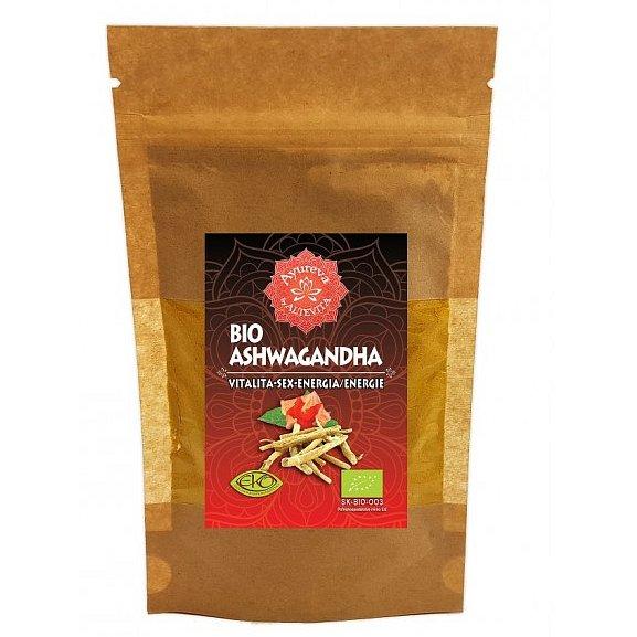 Altevita Ajurvéda bylinný prášek Ashwaganda 60g - Vitalita-Sex-Energie