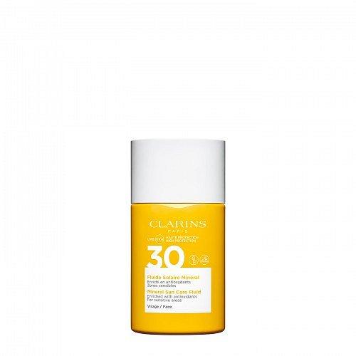 Clarins Sun Care Face Fluid SPF30 opalovací fluid na obličej 30ml