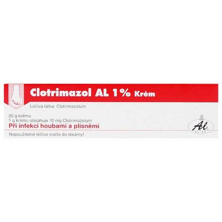 Clotrimazol AL 1 % krém 1 x 20 g 1 %