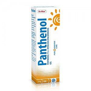Dr.Max Panthenol 7% gel s HA 100ml