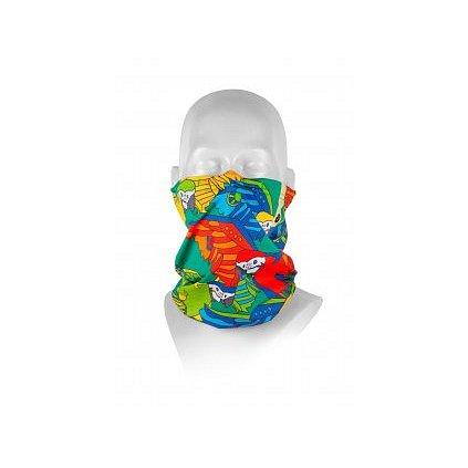 Respilon Antivirový nákrčník R-shield Light Parrot pro děti 1ks