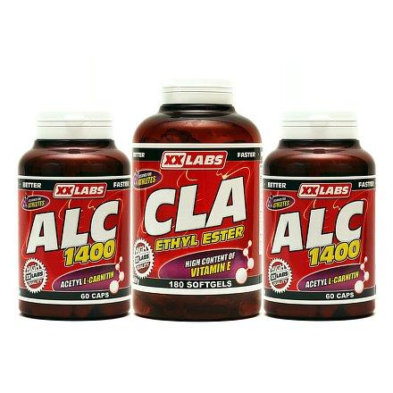 ALC + CLA + ALC ZDARMA (3x60 cps)