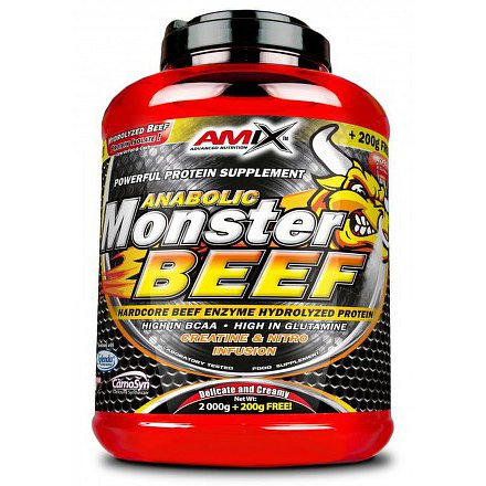 Anabolic Monster BEEF 90% Protein 2200g strawberry-banana