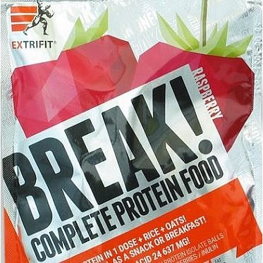 EXTRIFIT Break! Protein Food 90g Raspberry