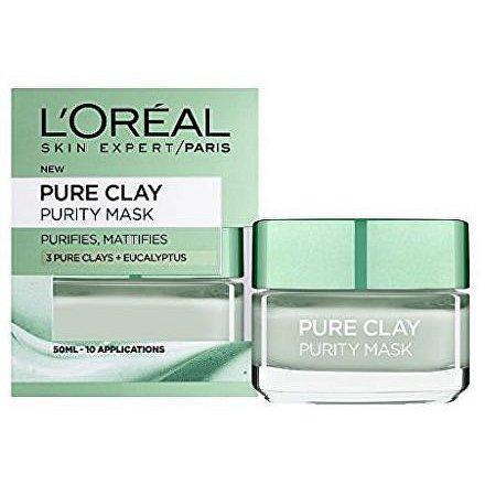 L'Oréal Paris Skin Expert Pure Clay čistici maska 50 ml