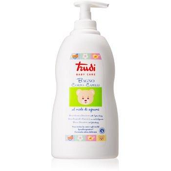 Trudi Baby Care dětské koupelové mléko a šampon s medem z citrusů  500 ml