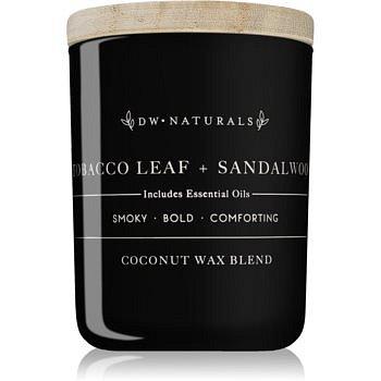 DW Home Tobacco Leaf + Sandalwood vonná svíčka 107,73 g