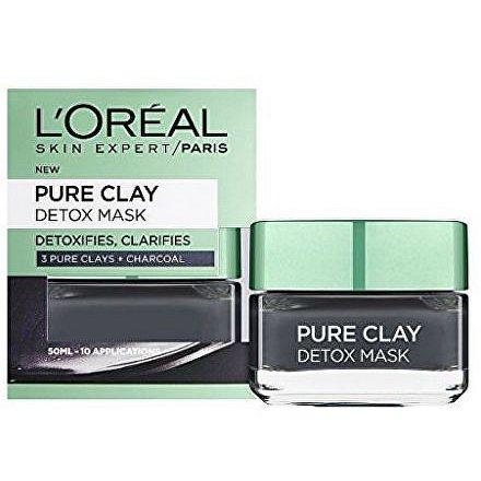 Loreal Paris Intenzivní čisticí rozjasňující maska Pure Clay (Detox Mask) 50 ml