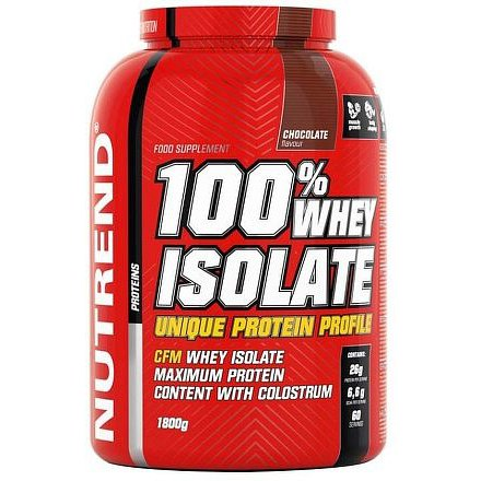 100% WHEY ISOLATE 1800 g čokoláda