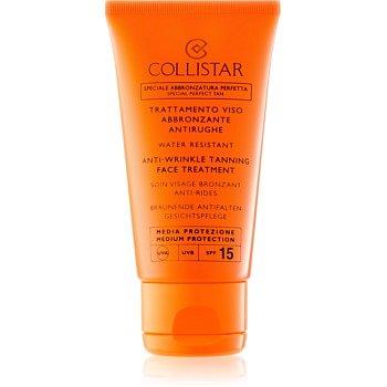 Collistar Sun Protection krém na opalování proti stárnutí pleti SPF 15  50 ml