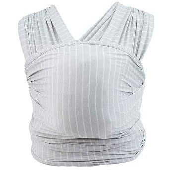 Ergobaby AURA WRAP šedá stripes