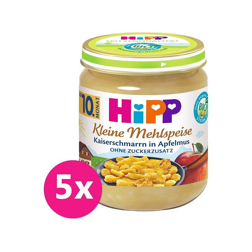 5x HiPP BIO Trhanec s jablky od uk. 9. měsíce, 200 g