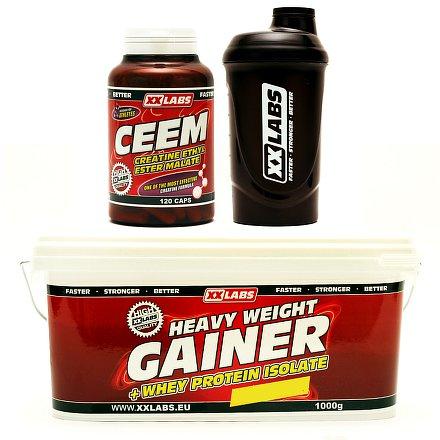 CEEM 120 + Gainer 1kg + Šejkr ZDARMA vanilka