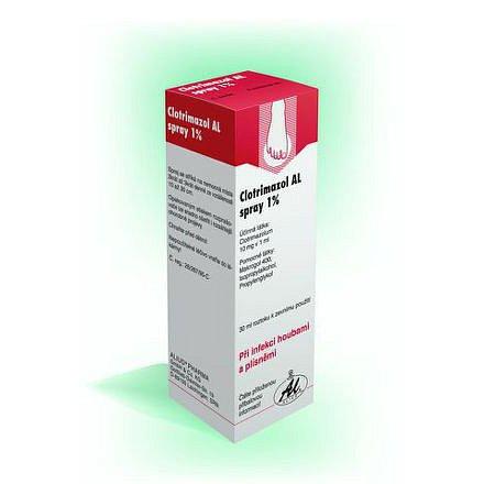 Clotrimazol AL sprej 1% 30 ml