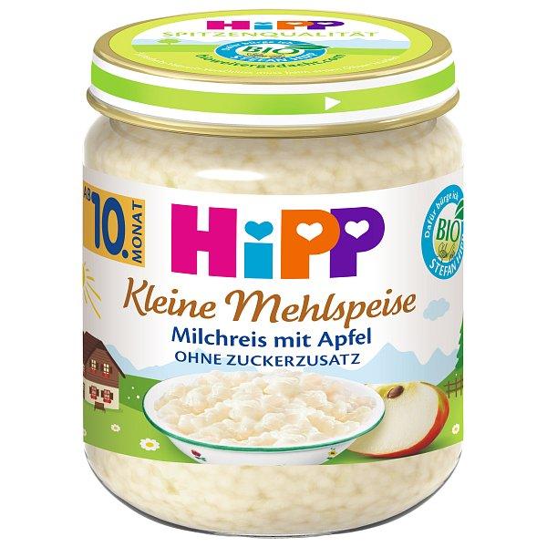 HiPP BIO Mléčná rýže s jablky od uk. 9. měsíce, 200 g