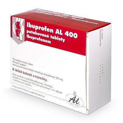 Ibuprofen Al 400 tablety 100 ks