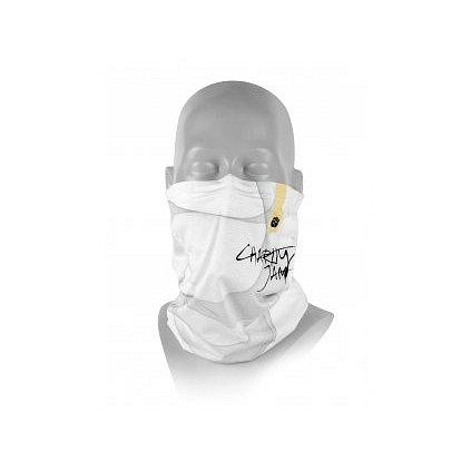 Respilon Antivirový nákrčník R-shield Charity Jam White 1ks