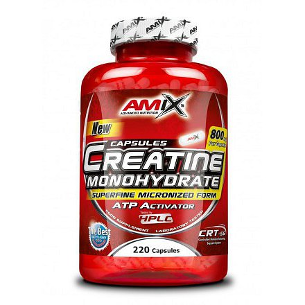 Creatine monohydrate 800mg 220cps