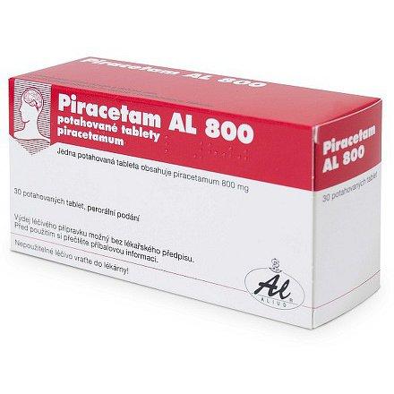 Piracetam AL 800 tablety potažené 30 x 800 mg