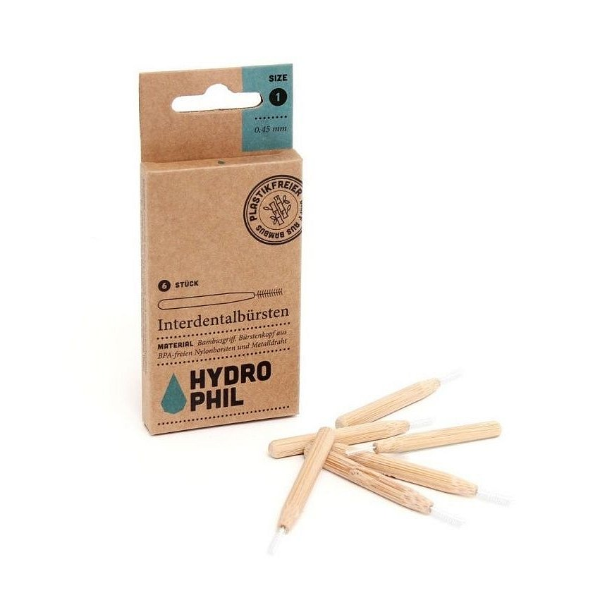 Hydrophil Bambusový mezizubní kartáček 0,45 mm 6 ks