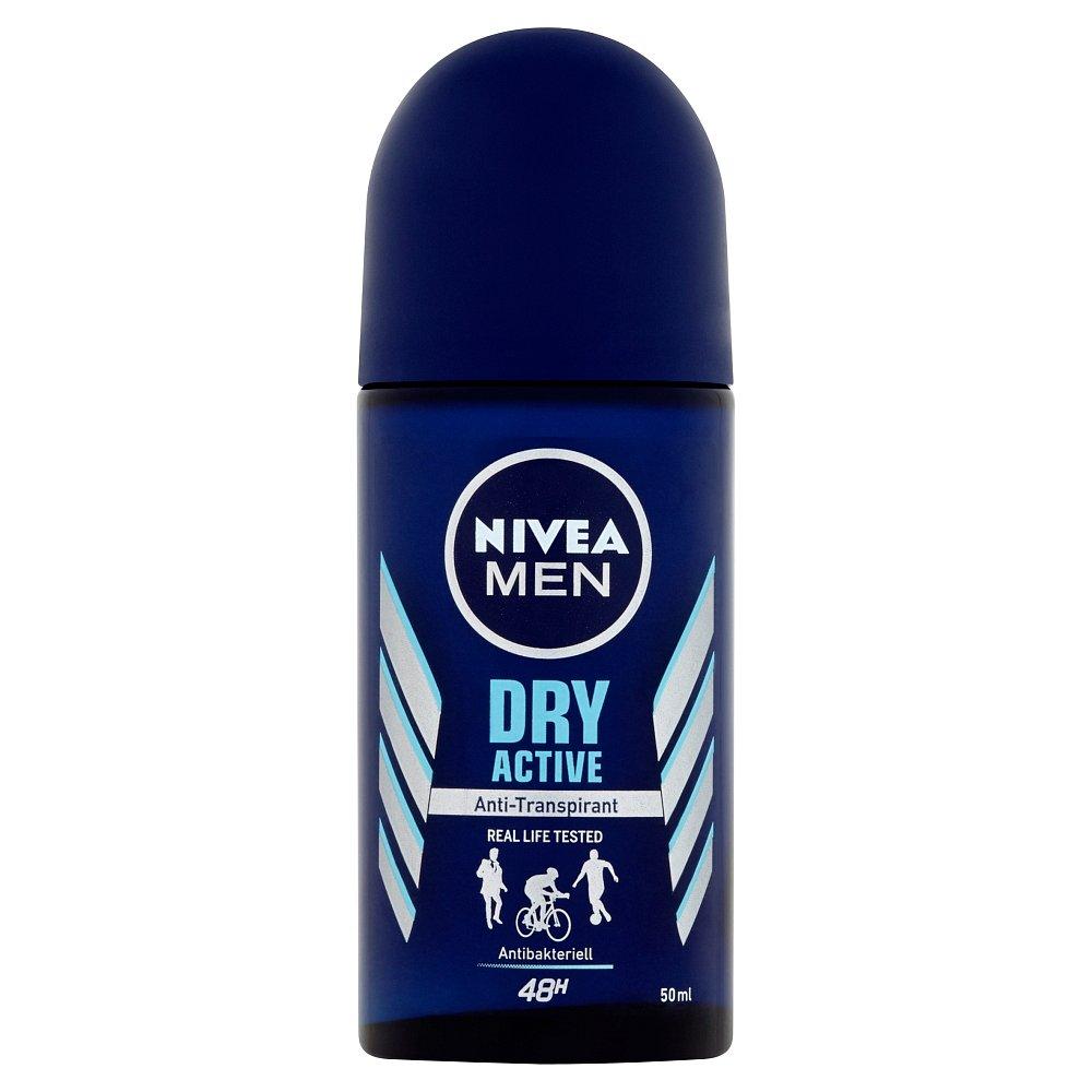 NIVEA Men Dry Active Kuličkový antiperspirant 50 ml