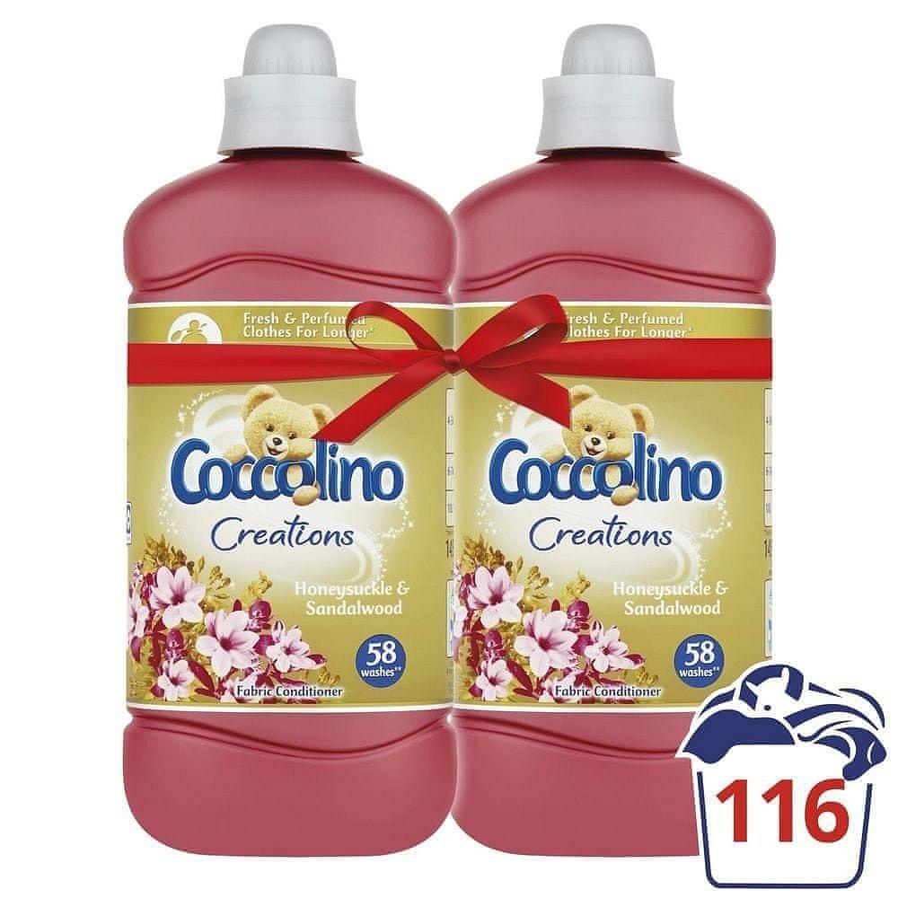 Coccolino Crations aviváž Honeysuckle & Sandalwood 2x1,45l