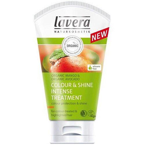 Lavera Colour & Shine intenzivní vlasová kúra pro barvené a melírované vlasy 20 ml