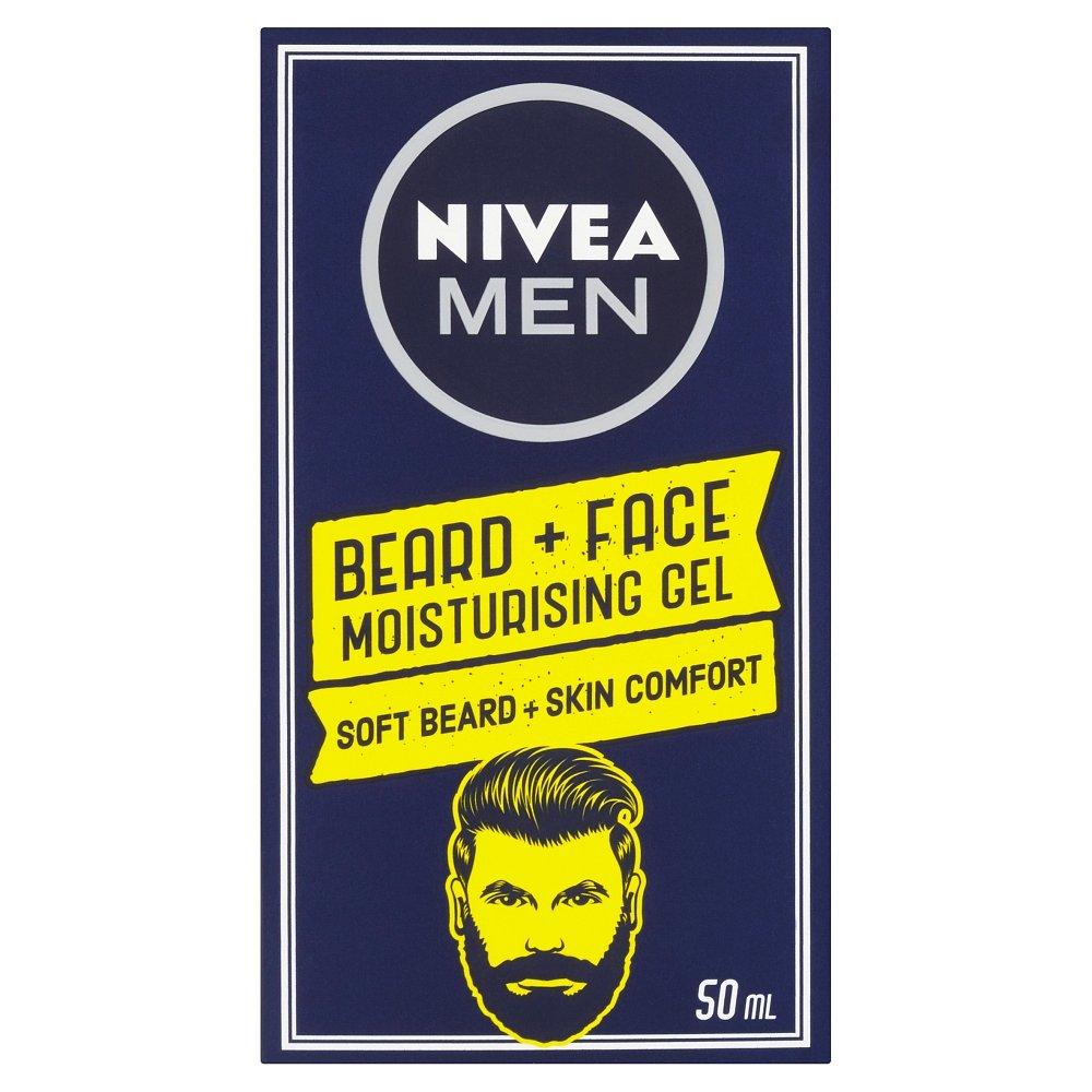 NIVEA  Men Hydratační gel na tvář a vousy 50 ml
