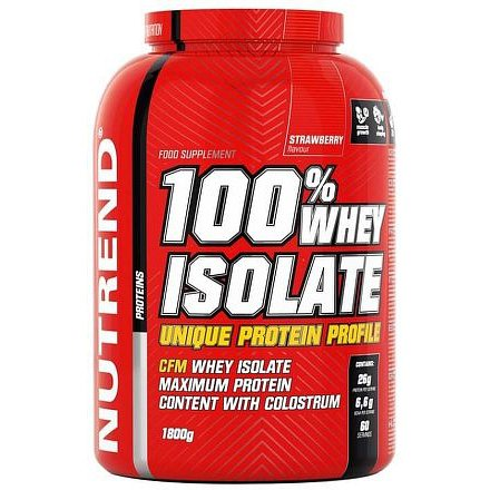 100% WHEY ISOLATE 1800 g jahoda